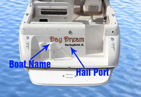 Boatname and Hailport Sample