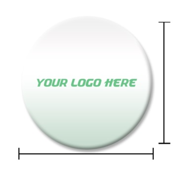Domed Circle Labels