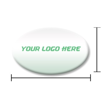 Domed Oval Labels